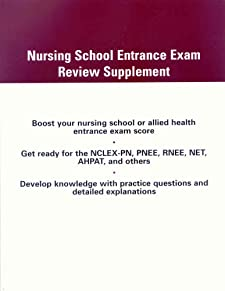 Nursing School Entrance Exam Review Supplement Frederick A. Bettelheim, William H. Brown and Jerry March