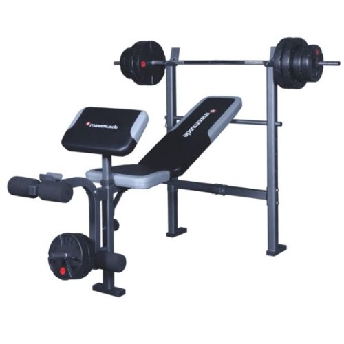 Maximuscle Weight Bench Instructions images