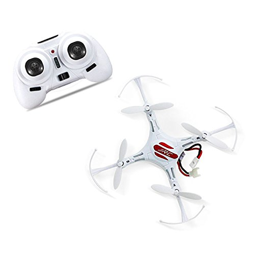 Remote Control Helicopter Drone Mini Quadcopter RC Toy Remote Control Aircraft 4 Channel 2.4GHz 6-Axis Gyro Helicopter With LED Headless Mode Hexacopter White (Helicopter Quad compare prices)