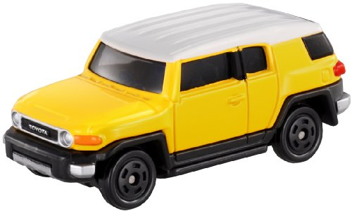 Takara Tomy Toyota FJ Cruiser Yellow/White #85 - 1