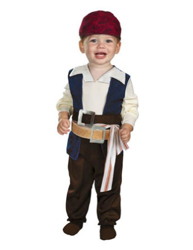 Baby-Toddler-Costume Jack Sparrow Toddler Costume 12-18 Month Halloween Costume