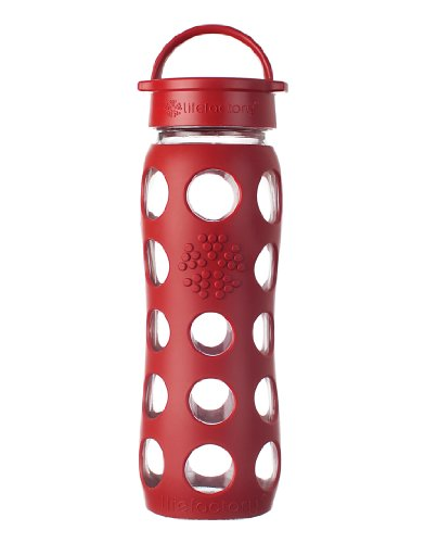Lifefactory 22-Ounce Beverage Bottle, Red