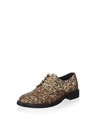 Guess Zapatos de cordones (Dorado)