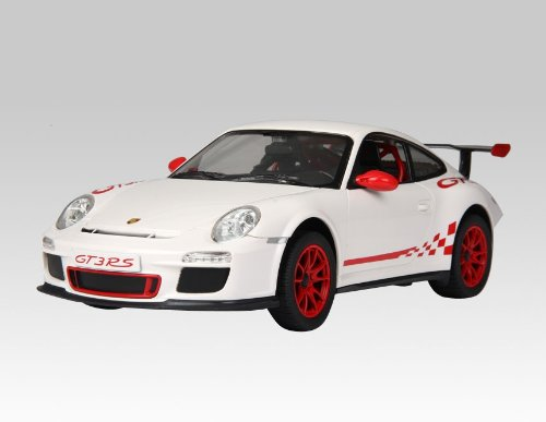 1:14 Porsche Mini RC Car Toy Licensed Car Model (White) + Worldwide free shiping