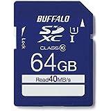BUFFALO UHS-I Class10 SDカード 64GB RSDC-064GU1S/N [フラストレーションフリーパッケージ(FFP)]
