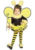 Bumblebee Bee Ballerina Child Costume Size 2-4 Toddler