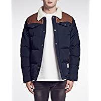 Bellfield - Men's Campbell Faux Leather Panelled Jacket