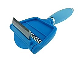 New Style Steel Dual-Use Pet Fur Shaving & Grooming Comb Blue