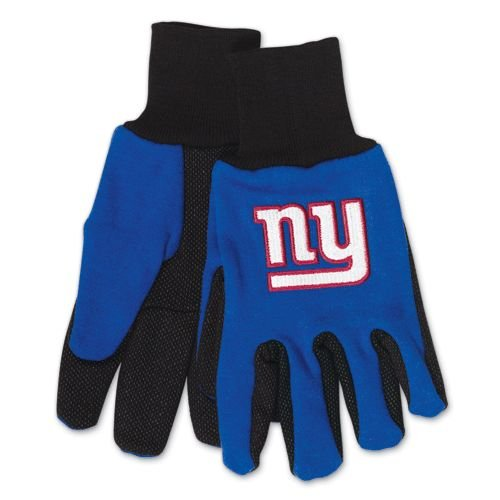 New York Giants Two Tone Gloves (New York Giant Gloves compare prices)