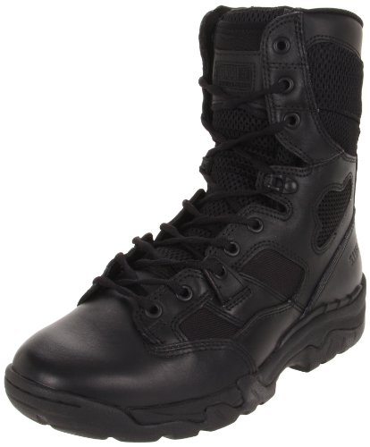5.11 Taclite Mens 8 Inches Side Zip Boot,Black,9 M Us