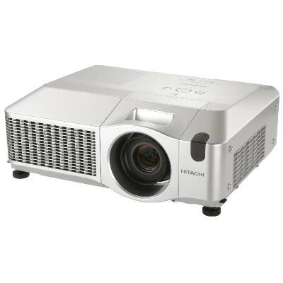 Hitachi CP-SX635 Multimedia LCD Projector 4:3 1400x1050 SXGA 1000:1 4000 lumens VGA HDMI USB Ethernet Speaker