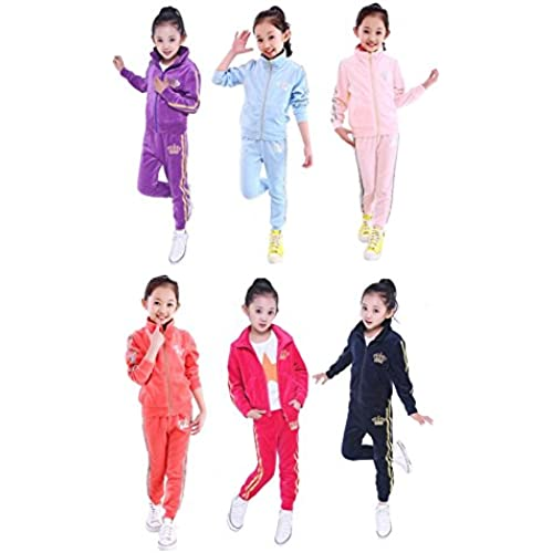 [2T] 소녀 아동복 컬러풀 반짝반짝 저지 상하 세트 셋업 여아 키즈 댄스-