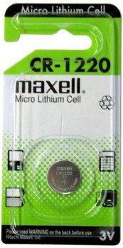 MAXELL Blister de 1 Pile bouton lithium CR1220 3V