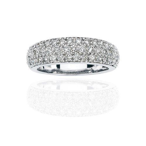 Platinum 1/4 ct. Diamond Wedding Band