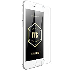 iPhone 6 Plus Impossible Tempered Glass Screen Protector, ITG Apple iPhone 6 Plus 5.5inch HD Clear Tempered Glass Screen Protector, (0.33mm) Beveled Edge - Patchworks ITG Pro Plus for iPhone 6 Plus 5.5