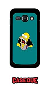 Caseque Eponymous Simpson Back Shell Case Cover For Samsung Galaxy Ace 3