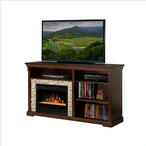 Dimplex Edgewood Electric Fireplace Entertainment Cabinet in Espresso picture B008LBEO8Y.jpg