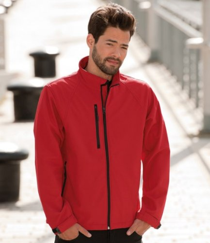 Russell Collection J140M Men, Softshell Jacket Black 2XL