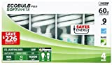 DDI - Feit Ecobulb 4 Pack SoftWhite 13 Watt CFL Bulbs (Cases of 12 items)