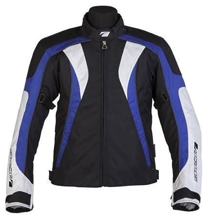 Nouveau Spada moto Textile veste tr/min noir/bleu