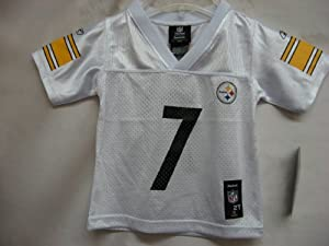 Ben Roethlisberger Pittsburgh Steelers White Mid-Tier NFL Toddler Jersey