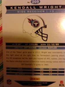 KENDALL WRIGHT TENNESSEE TITANS