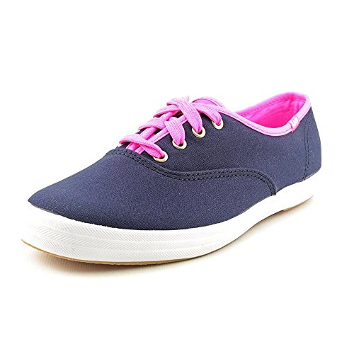 pictures of Keds Women's Ch CVO Fashion Sneakers in Navy / Neon Pink Size 9m