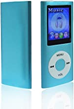 HccToo 16GB MP4 player Big and Clear Sound MP3 Music Player with FM Radio, Video and Voice Recorder-Blue