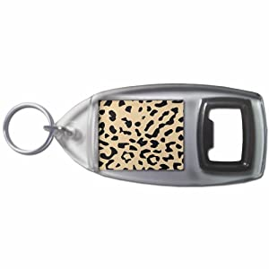 Leopard Print - Botella plástica del anillo dominante del abrelatas