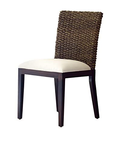 Panama Jack Sanibel Side Chair With Cushion, Antique