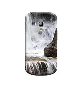 TransMute Premium Printed Back Case Cover With Full protection For Samsung S3 Mini (Designer Case)