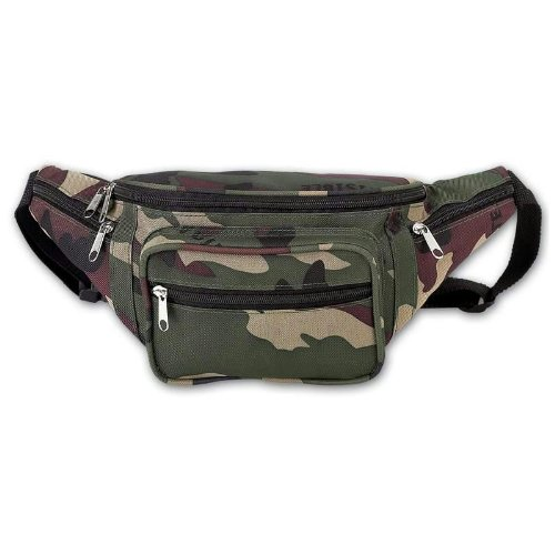 Extreme Pak Invisible Pattern Camo Water Repellent Waist Bag
