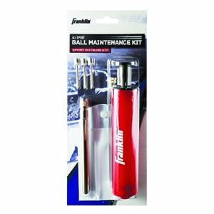 Franklin Ball Maintenance Kit: Pump, Needles & Pressure Gauge from Franklin Sports