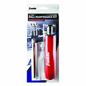 Franklin Ball Maintenance Kit: Pump, Needles & Pressure Gauge by Franklin