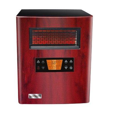Fangio Lighting Heat King 1500 Transitional Ati/Advance Tech Infrared Vortex Heater, Woodgrain Front