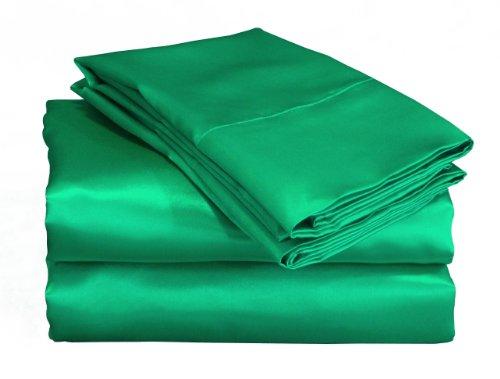 Green Satin Sheets front-126614