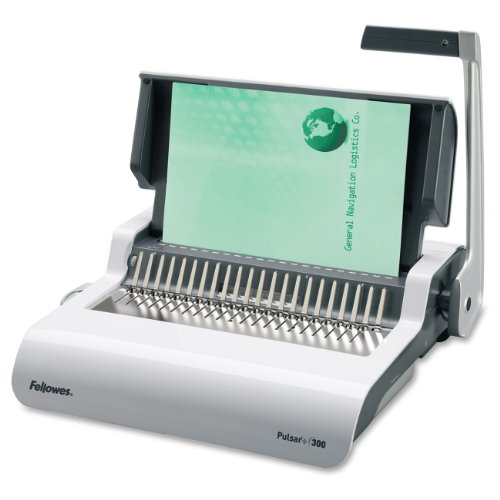 Fellowes Pulsar+ Comb Binding Machine with Starter Kit (5006801)
