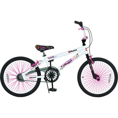 Bikes For Girls At Walmart Razor Girl s Angel Bike White