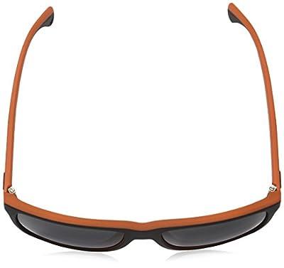 EMPORIO ARMANI Sunglasses EA 4033 552987 Top Black/ Orange Rubber 56MM