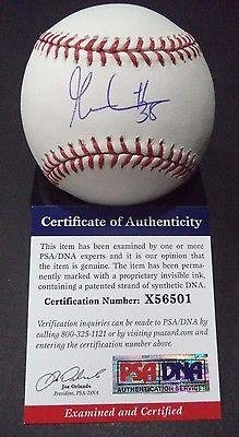 Autographed Gabe Kapler Baseball - omlb Psa dna Coa #x56501 - Autographed Baseballs