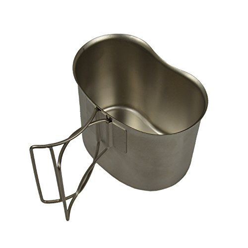 G.I. Type Stainless Steel Canteen Cup (Cup Stove compare prices)
