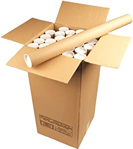 Ambassador Cardboard Postal Tube, 50mm diameter x 625mm (Box of 25)