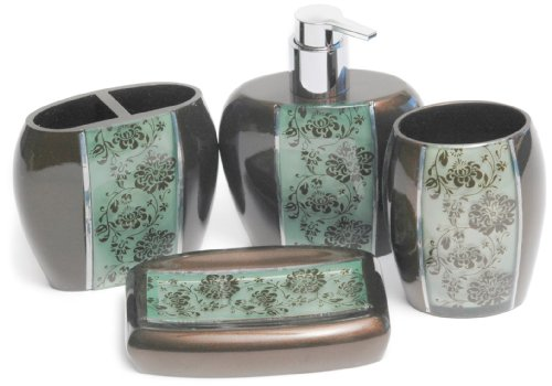 Manor Hill Polonaise Bath Accessory Set