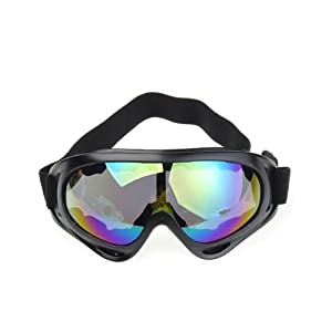 Buy Colorful Winter Cold Sun Snowmobile Motorcycle Off-Road Ski Goggle Glasses Eyewear Lens by Neewer