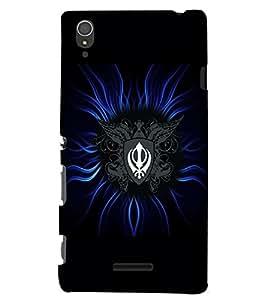 PrintVisa Religious & Spiritual Sikh 3D Hard Polycarbonate Designer Back Case Cover for Sony Xperia T3