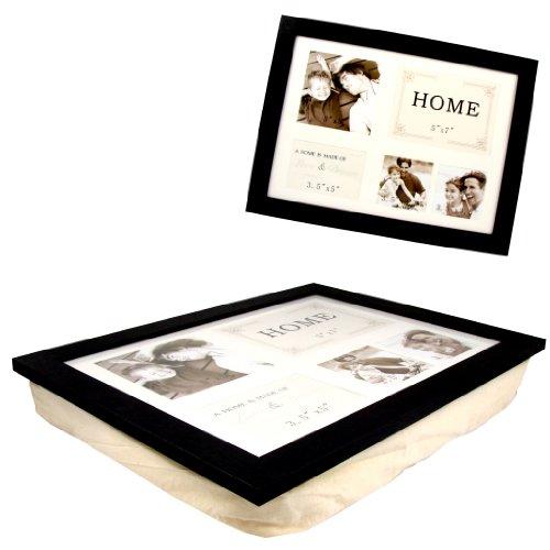knietablett laptoptisch laptray tablett mit kissen und. Black Bedroom Furniture Sets. Home Design Ideas
