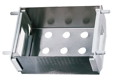 Drain basket for modular stainless steel drying racks