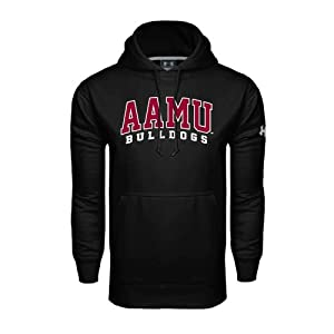 Alabama A&M Under Armour Black Performance Sweats Team Hood