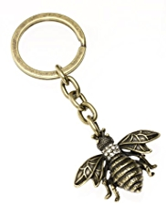 M&S Collection Diamanté Bee Keyring