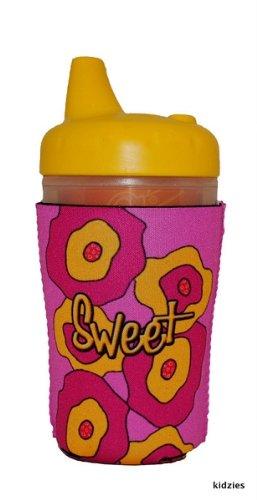 Kidzies Huggerz, Child'S Drink Sippy Cup Bottle Insulator, Poppies Design front-352562